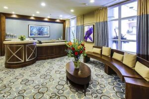 hotel reception photography